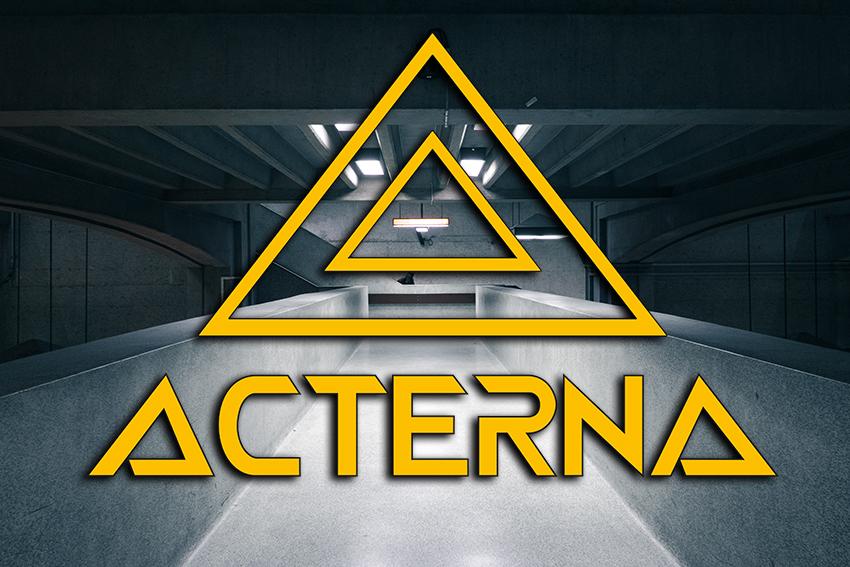 Acterna logo kujundamine