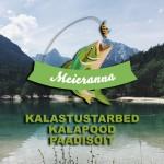 Meieranna kalastustarbed logo kujundamine
